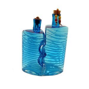 بطری شیشه ای مدل نوار منظم مجموعه دو عددی