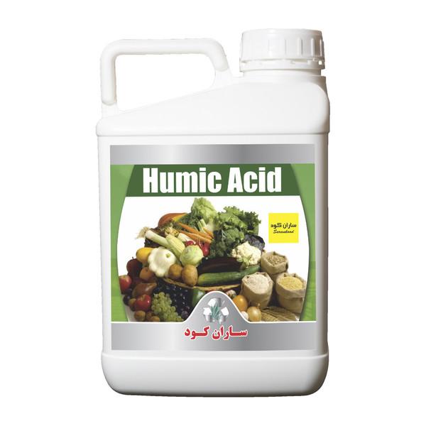 کود مایع ساران کود اسید هیومیک مدل ۰۲ حجم 5 لیتر