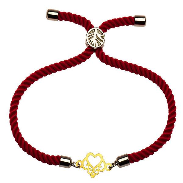 دستبند طلا 18 عیار زنانه گالری مرجان مدل 1064