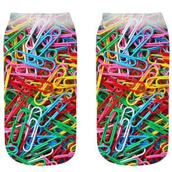 جوراب بچگانه طرح رنگارنگ