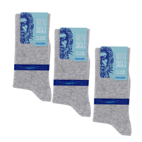 جوراب مردانه راکون مدل 102929 بسته 3 عددی