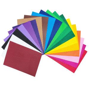 فوم رنگی مدل جاکورتا سایز 30x20 سانتیمتر بسته 20 عددی