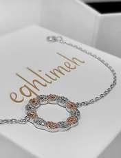 دستبند نقره زنانه اقلیمه کد DN439 -  - 5