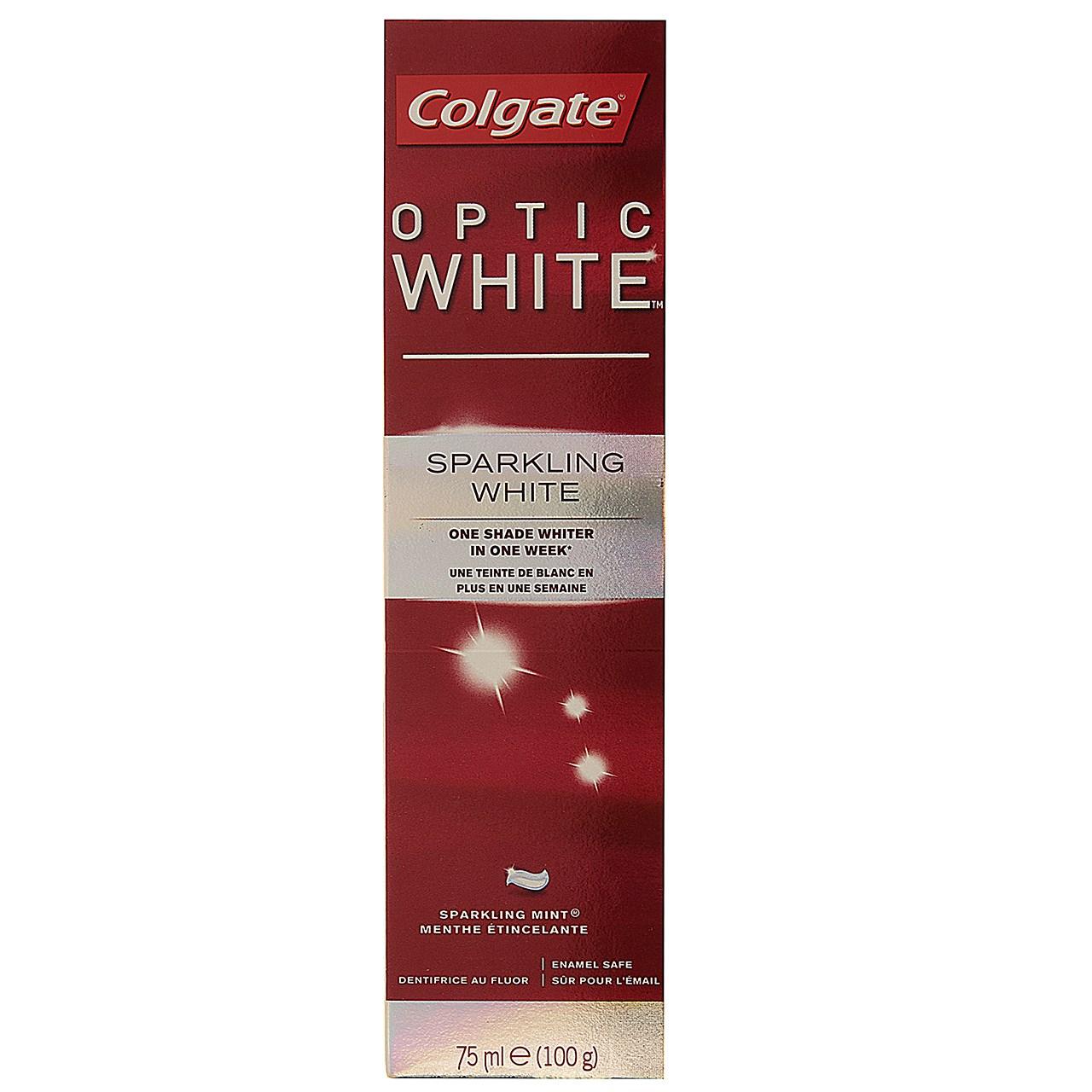 قیمت خمیر دندان کلگیت مدل Optic White حجم 75 میلی لیتر