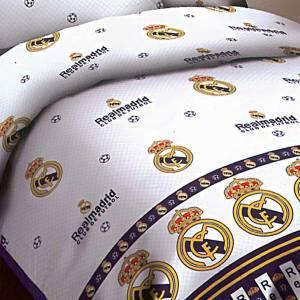 سرویس خواب کارینا مدل Real Madrid یک نفره 4 تکه