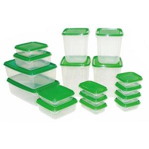 ست 34 پارچه ظروف نگهدارنده غذا مدل Gisin