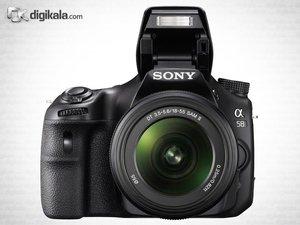 دوربین دیجیتال سونی اس ال تی A58 به همراه لنز 55-18