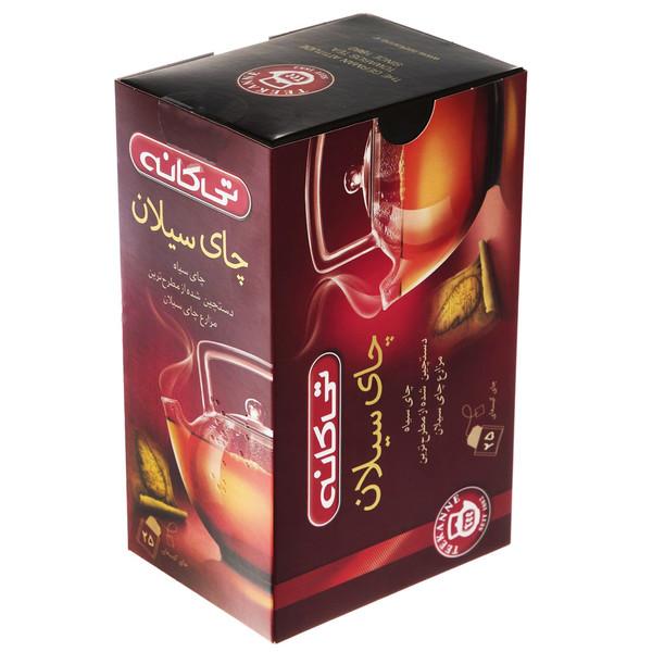 چای کیسه ای تی کانه مدل Ceylon بسته 25 عددی