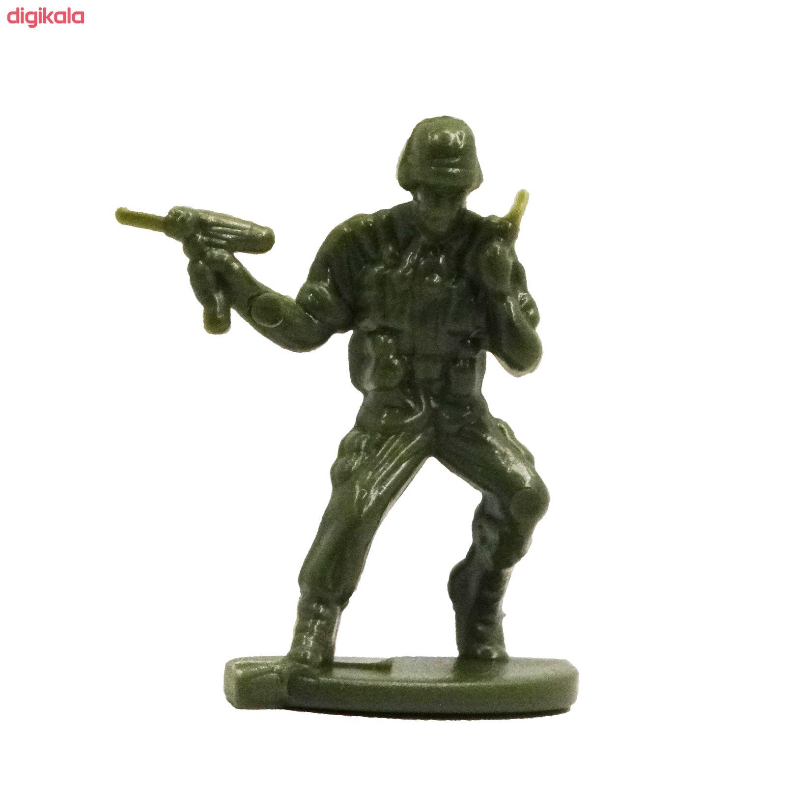 اسباب بازی جنگی مدل پادگان مجموعه 23 عددی main 1 20