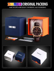 ساعت مچی عقربه ای مردانه اسکمی مدل 9127GH-NP -  - 6