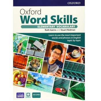کتاب Oxford Word Skills Elementary Second Edition اثر Ruth Gairns And Stuart Redman انتشارات Oxford