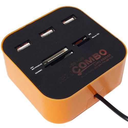 هاب 3 پورت USB.2 مدل COMBO
