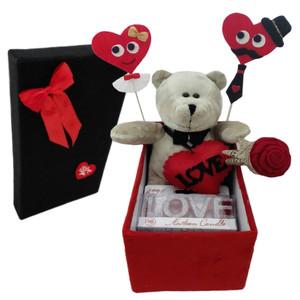 ست هدیه عروسک طرح خرس مدل Hsvs34