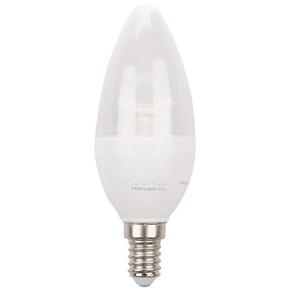 لامپ ال ای دی 6 وات شمعی نور پایه E14