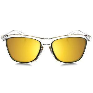 عینک آفتابی اوکلی سری Frogskins Crystal Collection مدل A4-9013