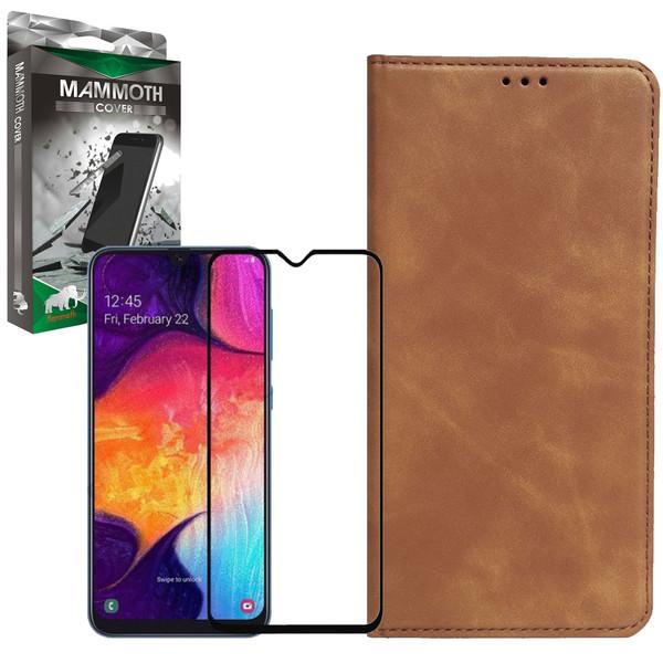 کیف کلاسوری ماموت مدل KLSR مناسب برای گوشی موبایل سامسونگ Galaxy A10S به همراه محافظ صفحه نمایش