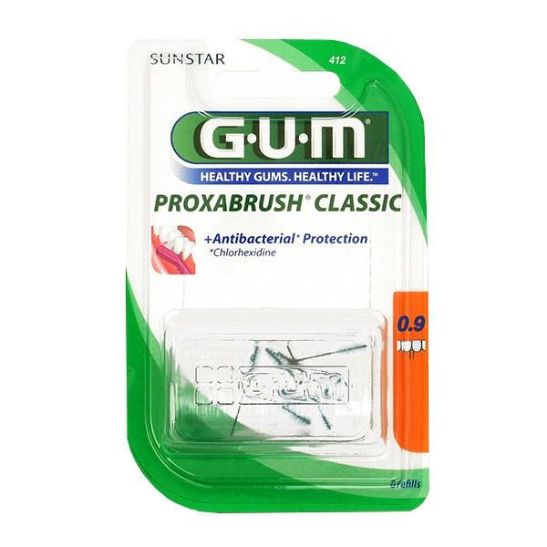 برس یدک مسواک بین دندانی جی یو ام مدل Proxabrush Classic سایز 0.9