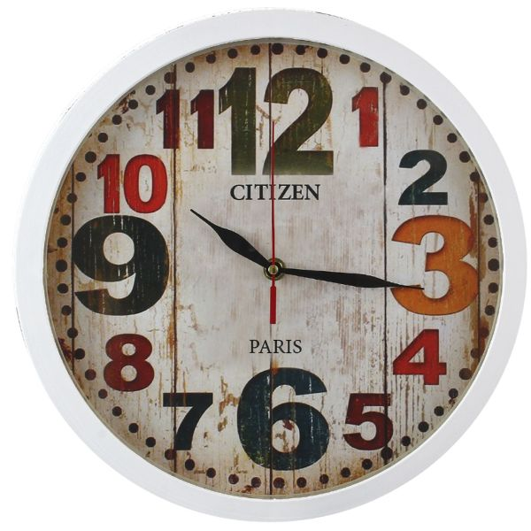 ساعت دیواری شیانچی طرح Number  کد 10010057