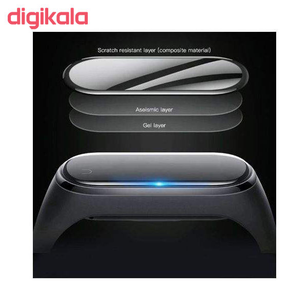محافظ صفحه نمایش مدل MB-005 مناسب برای مچ بند هوشمند شیائومی Mi Band 5 main 1 3