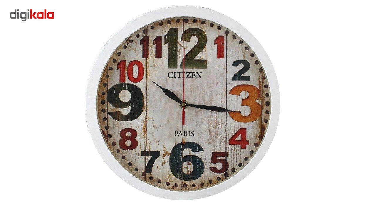 ساعت دیواری شیانچی طرح Number  کد 10010057 main 1 1