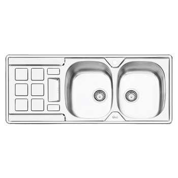 سینک ظرفشویی ایلیا استیل مدل 2021 توکار