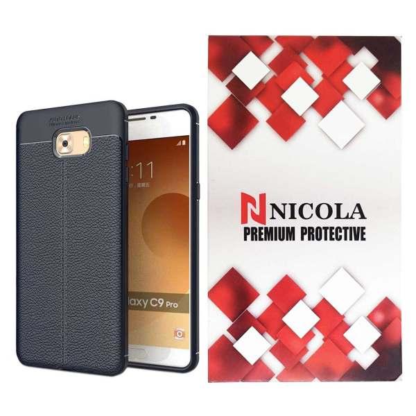 کاور نیکلا مدل N_ATO مناسب برای گوشی موبایل سامسونگ Galaxy C9 Pro