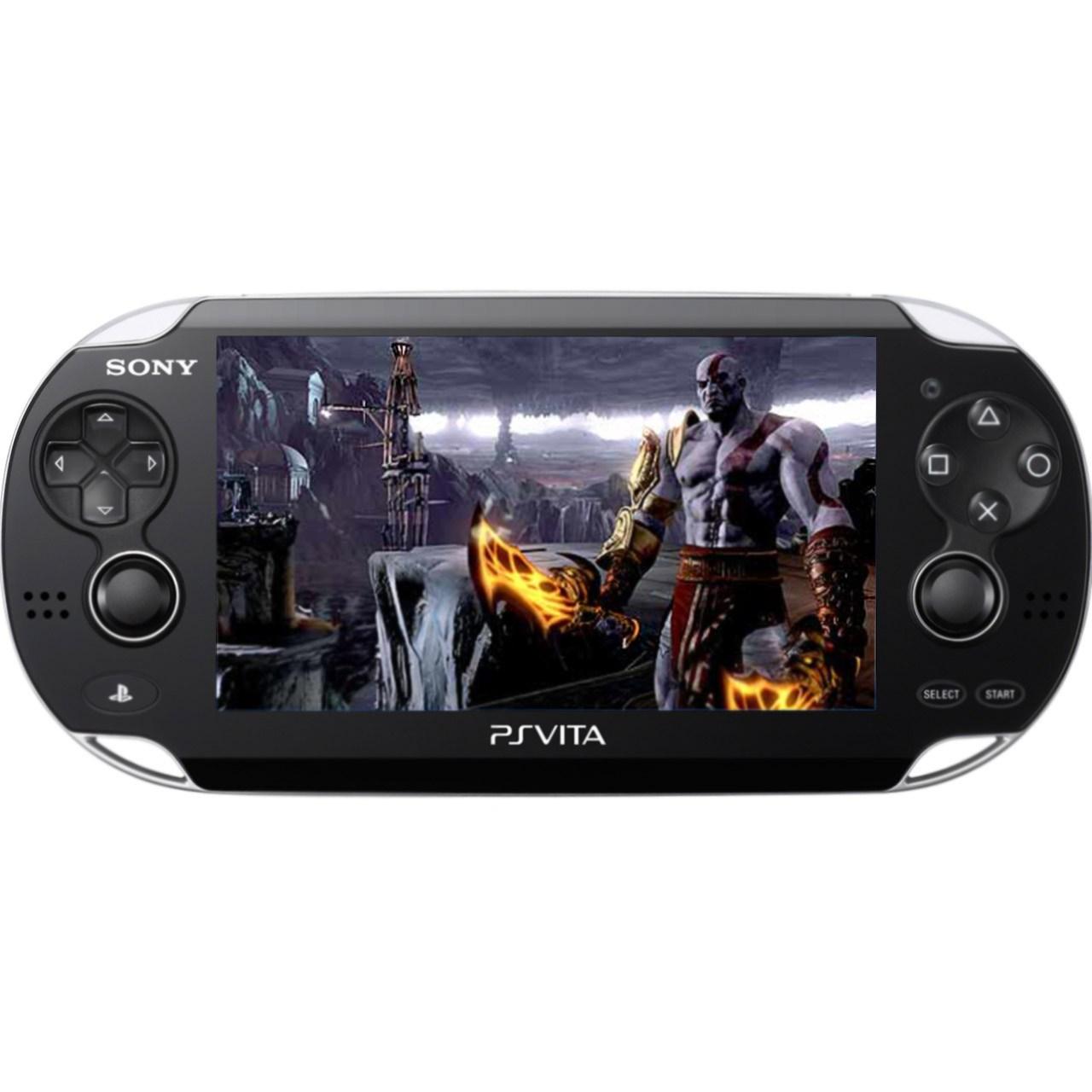 کنسول بازی سونی مدل پی اس ویتا وای فای به همراه بازی God of War