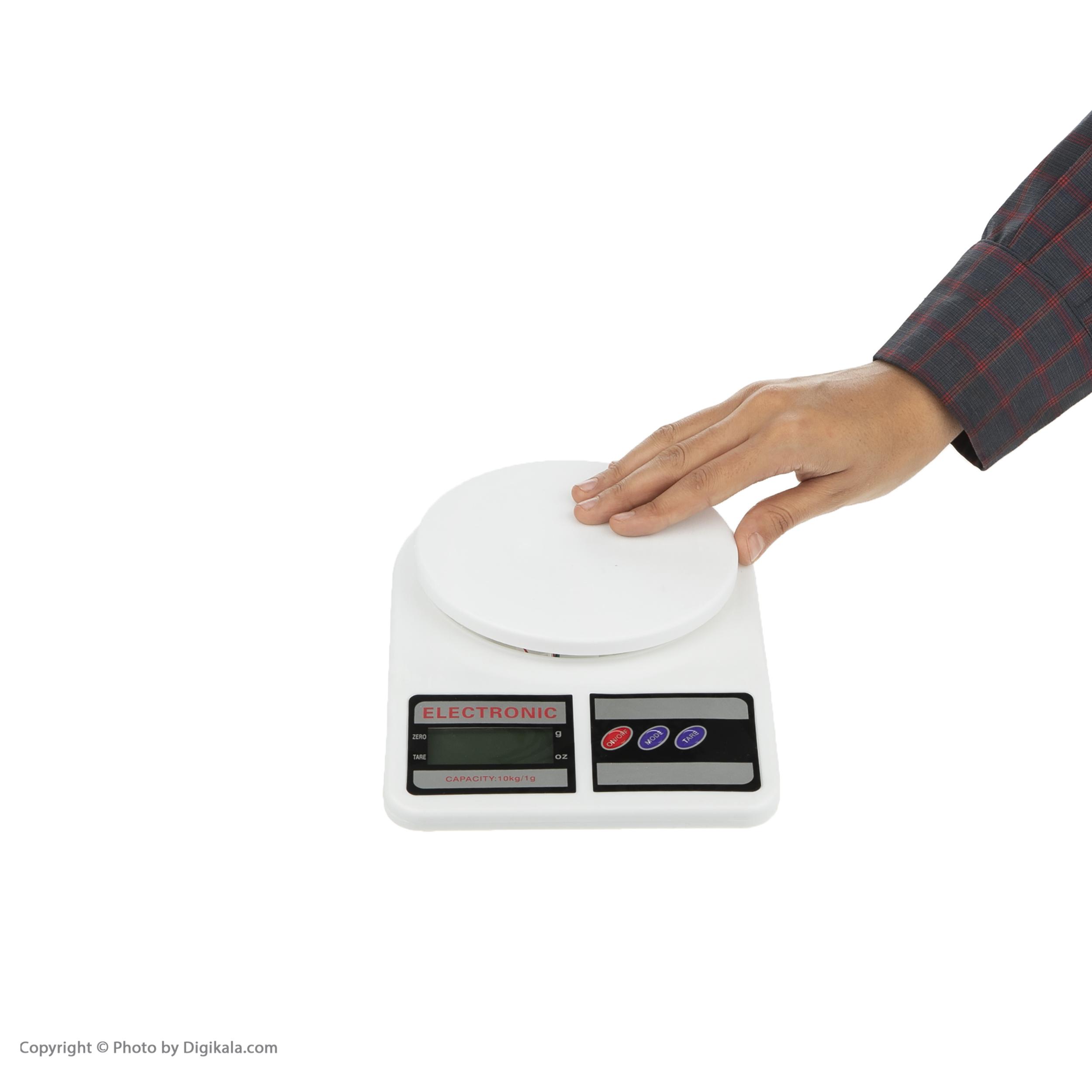ترازو آشپزخانه الکترونیک مدل ACS10KG-EL