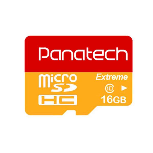 کارت حافظه microSDHC پاناتک مدل Extreme کلاس 10 استاندارد UHS-I U1 سرعت 30MBps ظرفیت 16 گیگابایت