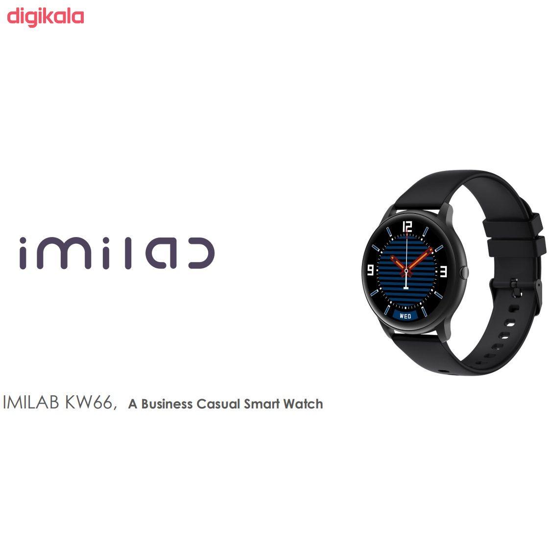 ساعت هوشمند ایمیلب مدل KW66 45mm main 1 7