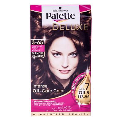 Photo of کیت رنگ مو پلت سری Deluxe مدل Chocolate Brown شماره 65-3