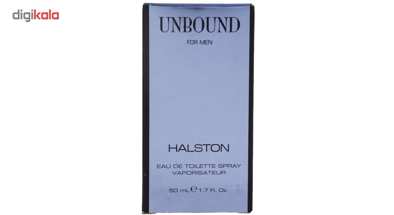 خرید اینترنتی با تخفیف ویژه ادو تویلت مردانه هالستون مدل Unbound حجم 50 میلی لیتر