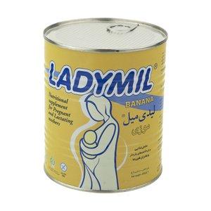 مکمل غذایی مادران باردار و شیرده لیدی میل با طعم موز - 400 گرم