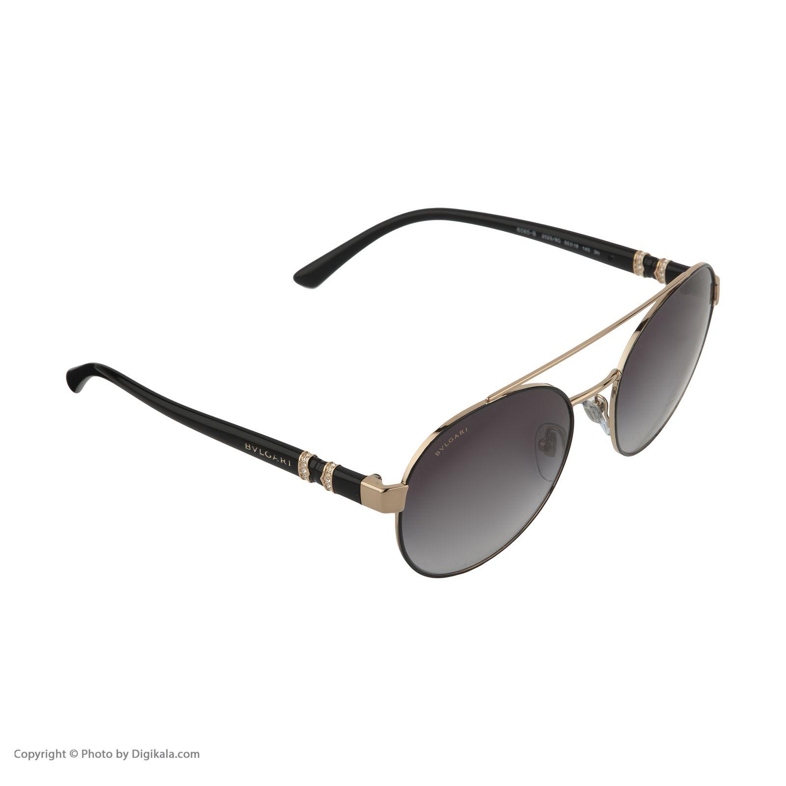 عینک آفتابی زنانه بولگاری مدل BV6085B 20238G -  - 5
