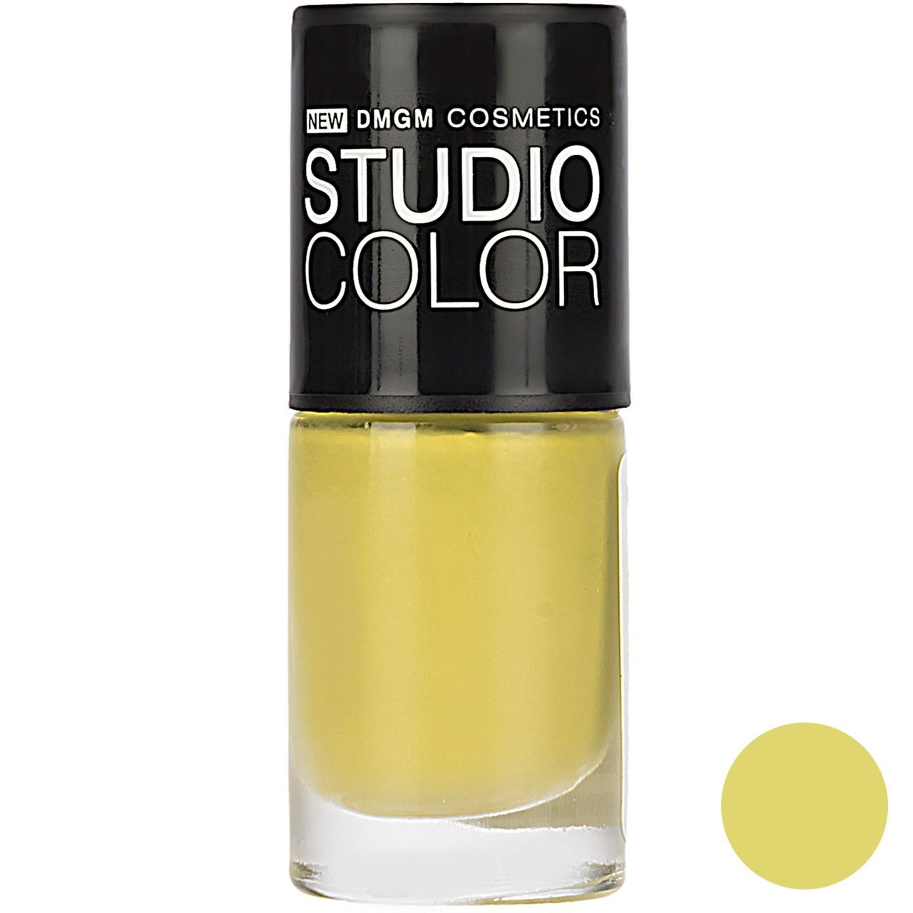 لاک ناخن دی ام جی ام سری Studio Color مدل Burj Al Arab شماره E32
