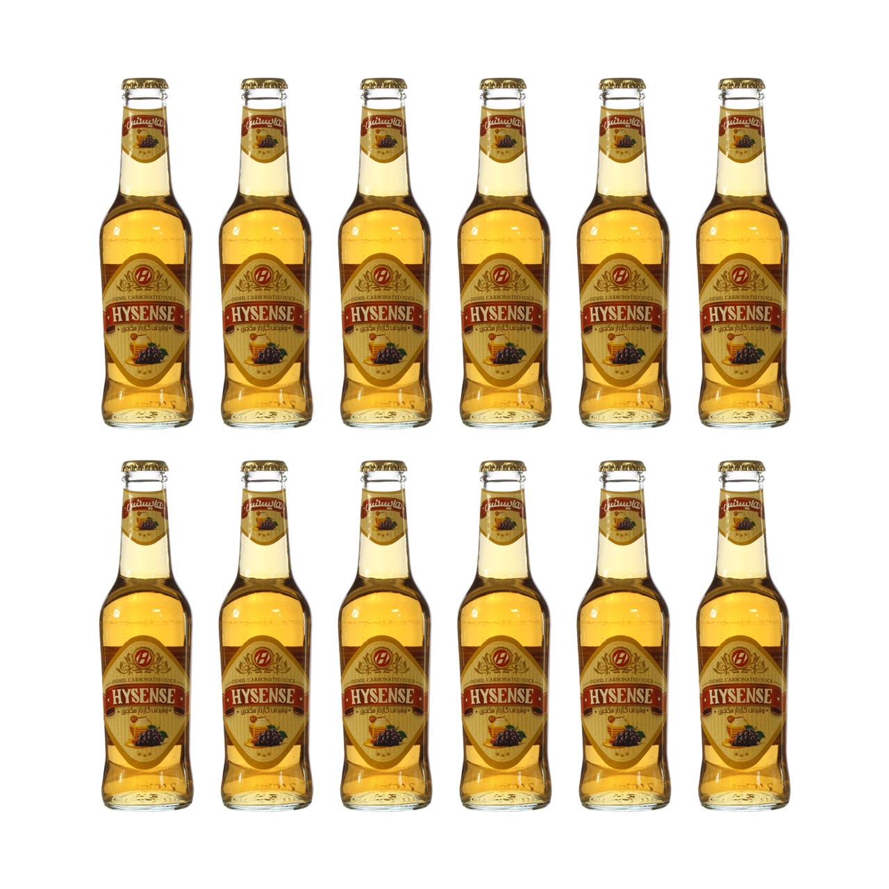 نوشیدنی سکنجبین هایسنس  - 280 میلی لیتر بسته  12عددی
