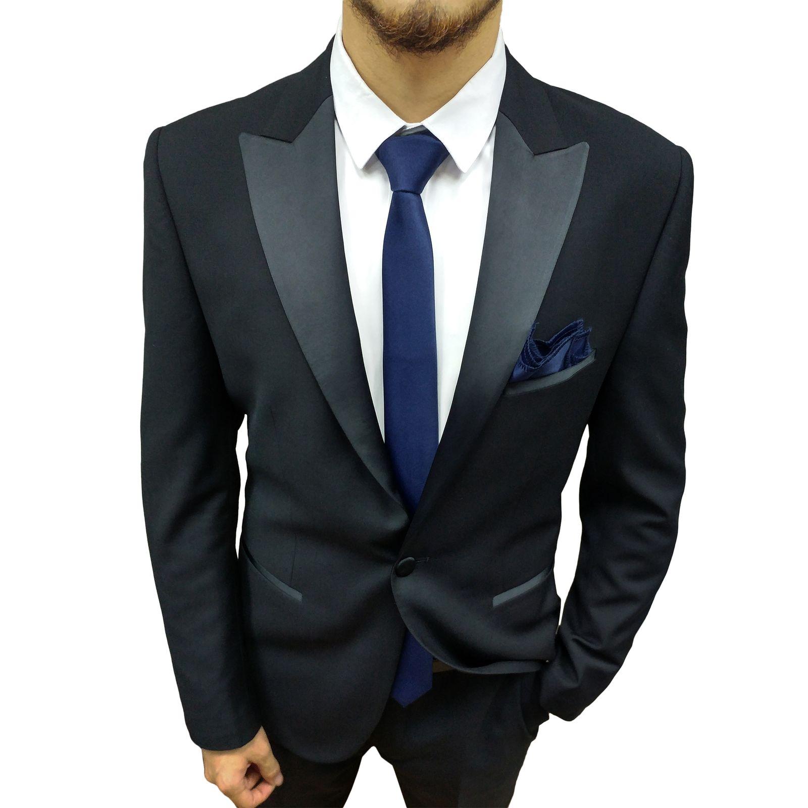 ست کراوات و پاپیون و دستمال جیب مردانه کد S -  - 3