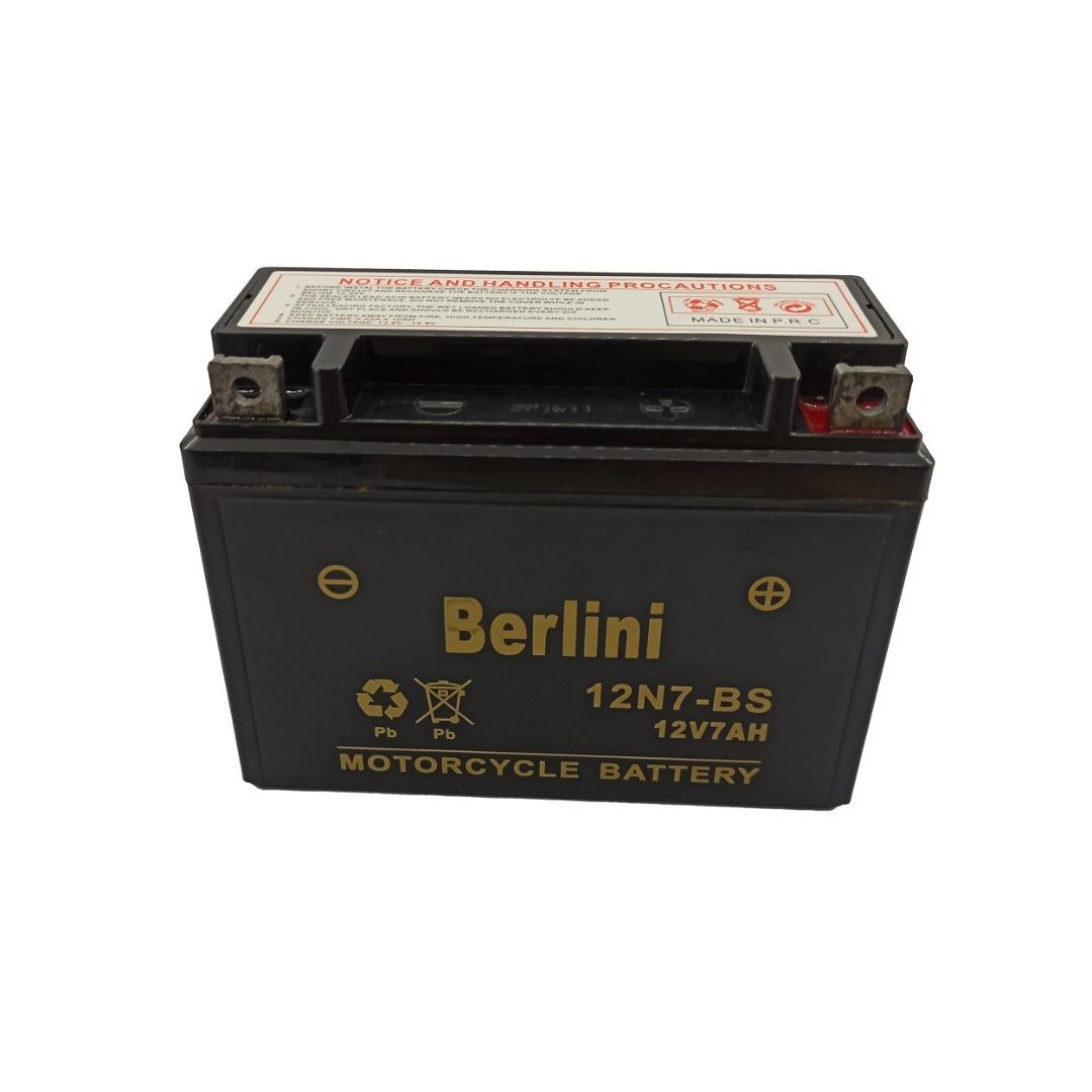 باتری موتورسیکلت برلینی مدل 7.12