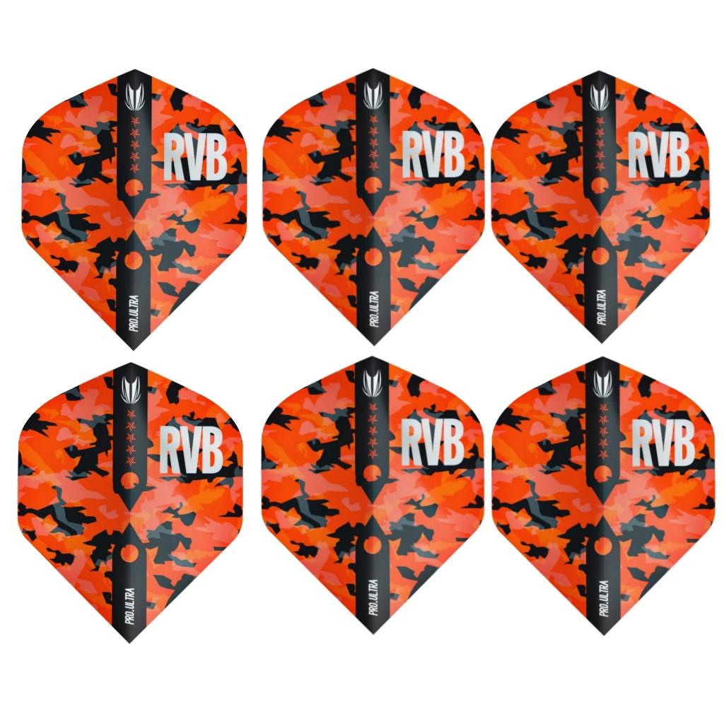 پر دارت تارگت مدل RVB 100micron بسته 6 عددی