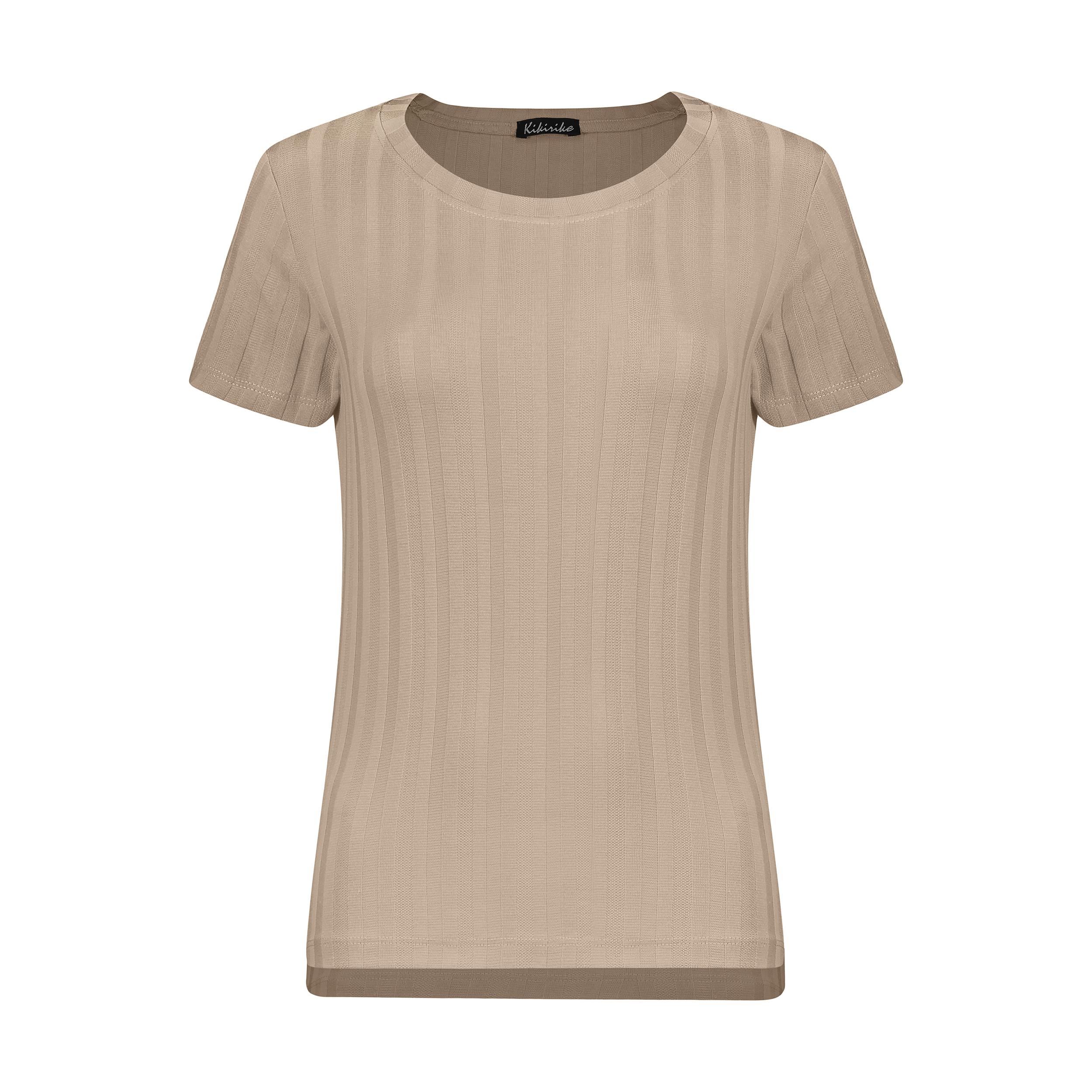 تی شرت زنانه کیکی رایکی مدل BB2507-055
