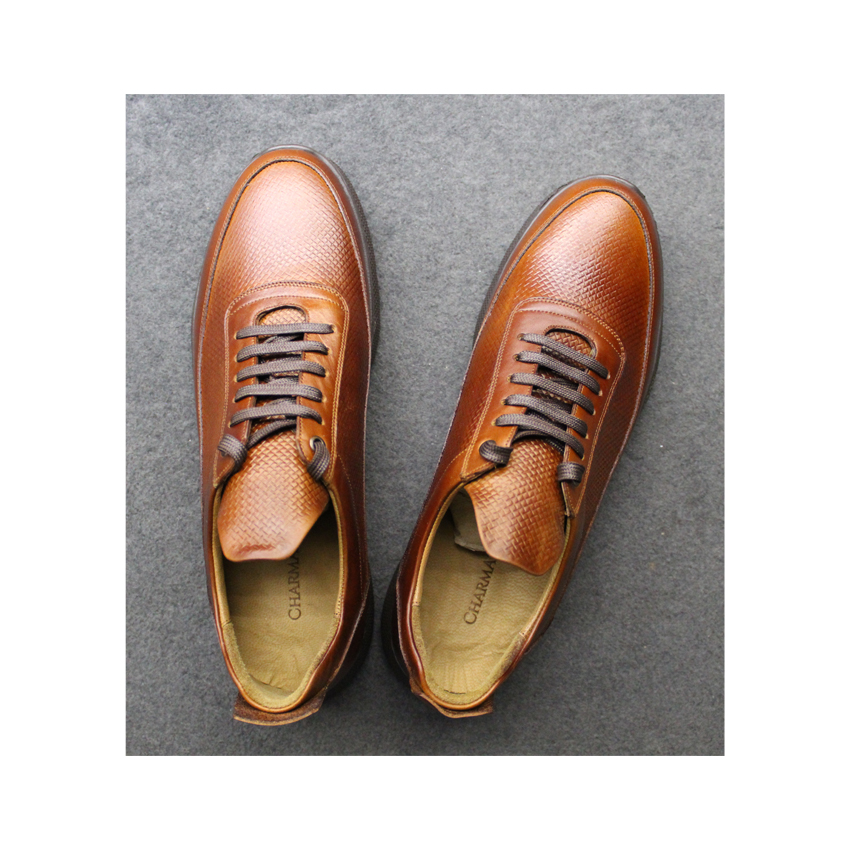 CHARMARA leather men's daily shoes , sh017 Model , Code as