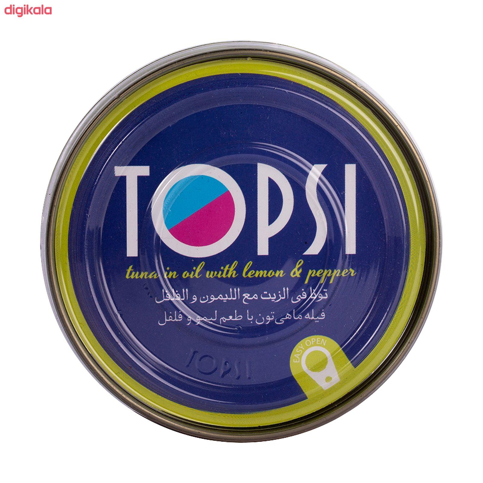 تن ماهی تاپسی با طعم لیمو و فلفل- 180 گرم main 1 3