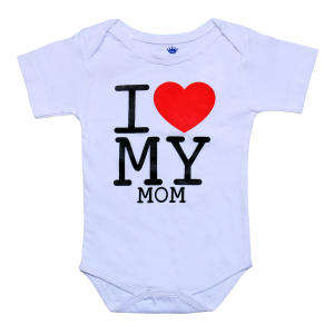 بادی نوزادی مدلا طرح عشق مامان کد 103