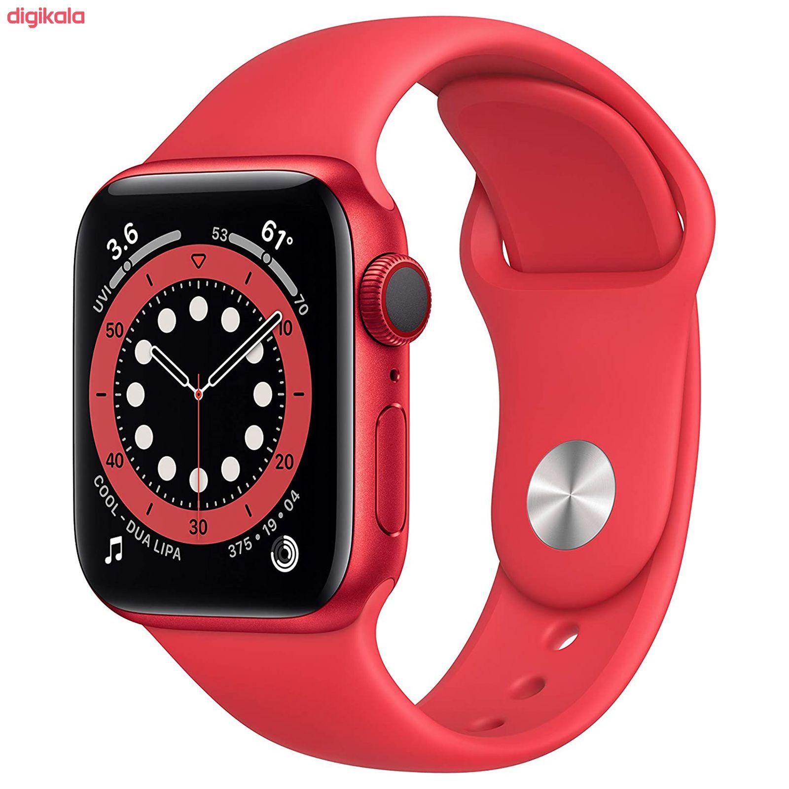 ساعت هوشمند اپل سری 6 مدل Aluminum Case 40mm main 1 6