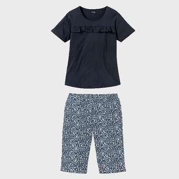 ست تی شرت و شلوارک زنانه اسمارا مدل 4093677