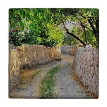 کاشی طرح کوچه باغ ایرانی کد wk1419