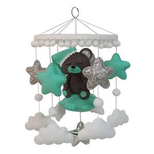 آویز تخت کودک مدل خرس
