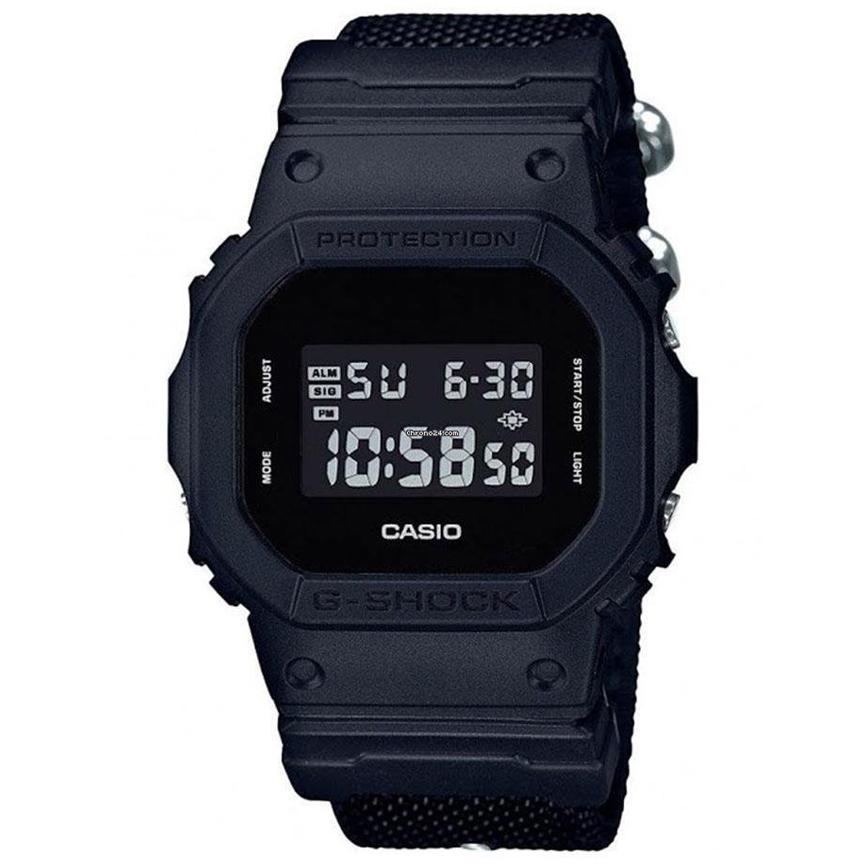 قیمت و خرید                      ساعت مچی دیجیتال مردانه کاسیو مدل جی شاک کد DW-5600BBN-1