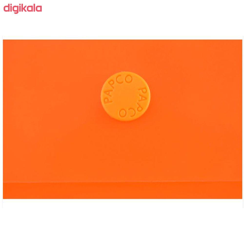پوشه دکمه دار پاپکو مدل 101M بسته 2 عددی main 1 2
