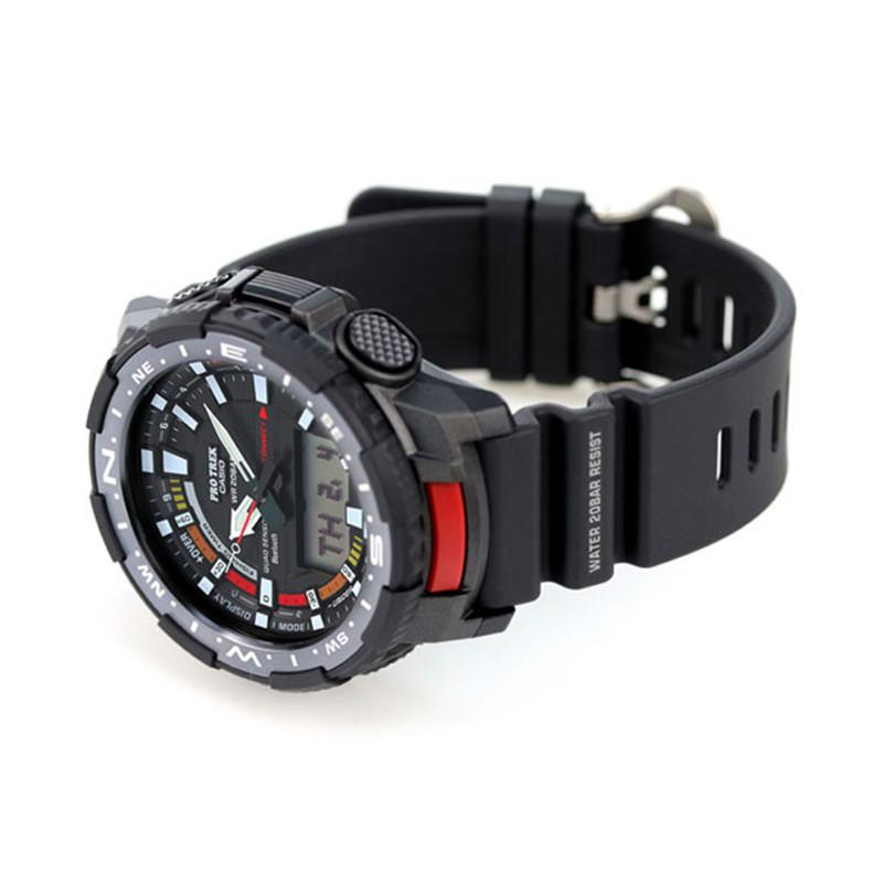 ساعت مچی عقربهای مردانه کاسیو مدل PRT-B70-1DR TH
